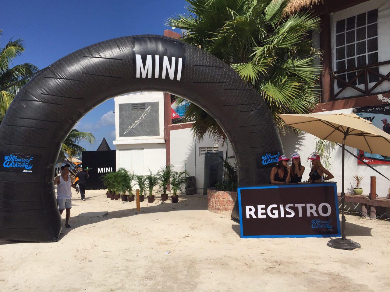 Evento Mini cooper Cancun