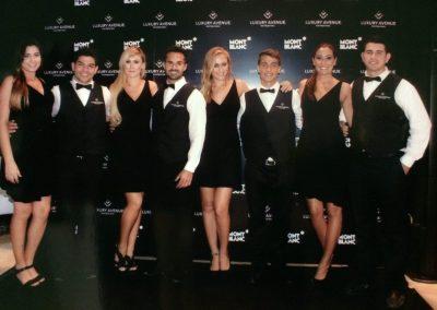 modelos meseros cancun