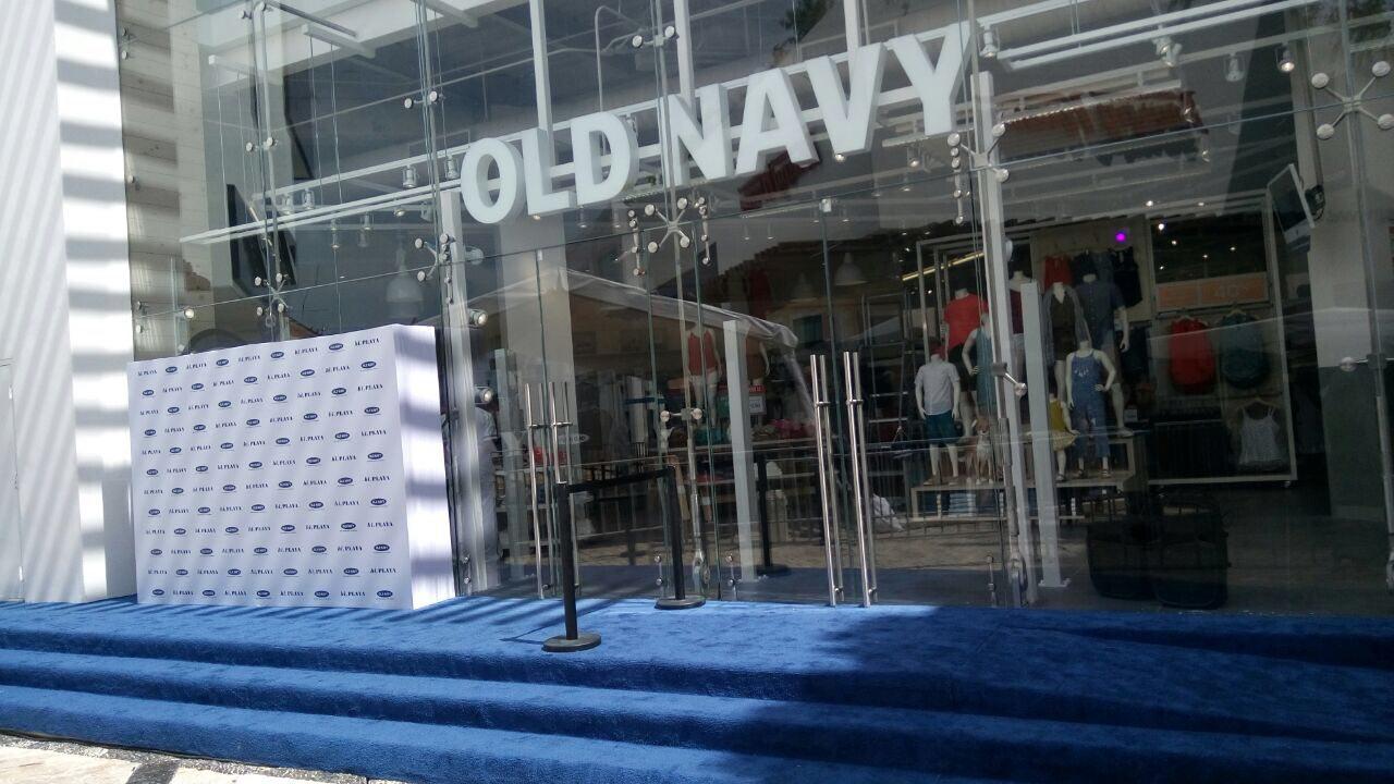 Inauguracion Old Navy Playa del Carmen